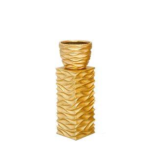 EUH - 2081/2 arany színű tartóoszlop kaspóhoz 70 cm