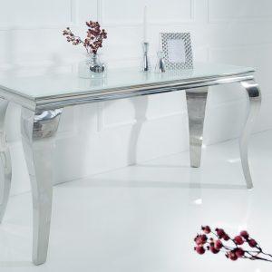 CK - Polus konzolasztal fehér üveggel