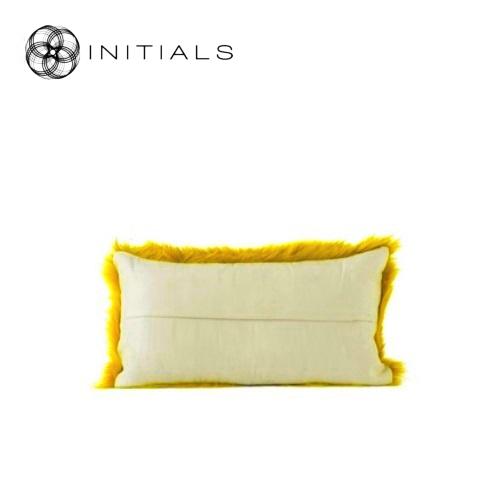 Goat Style Díszpárna 50x25 cm mustard yellow
