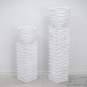 EUH - 2027/2 fehér színű kaspó 40 cm