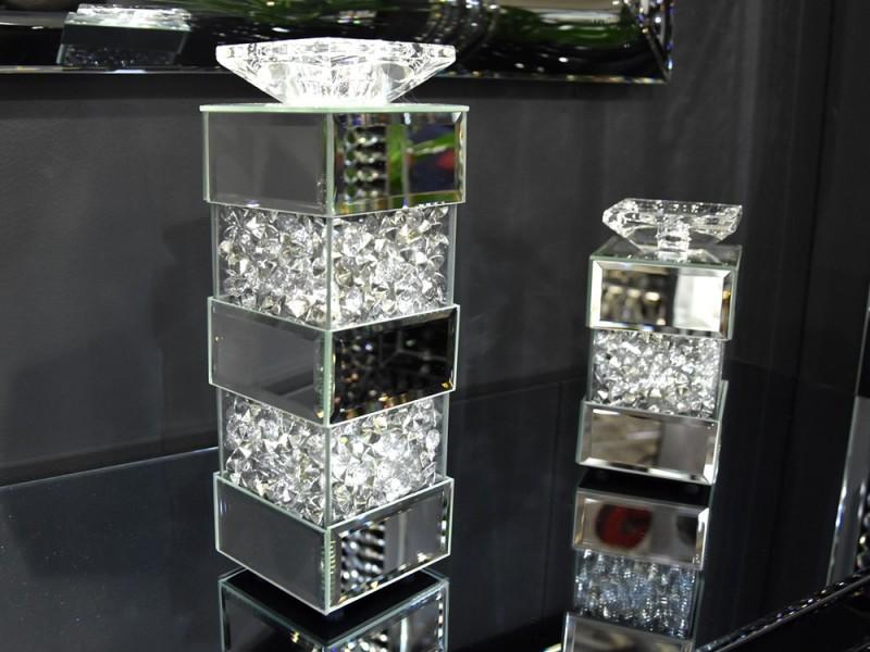 EUH - GD2017 kristályos gyertyatartó 40 cm