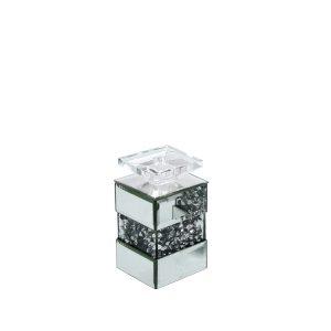 EUH - GD2017 kristályos gyertyatartó 20 cm
