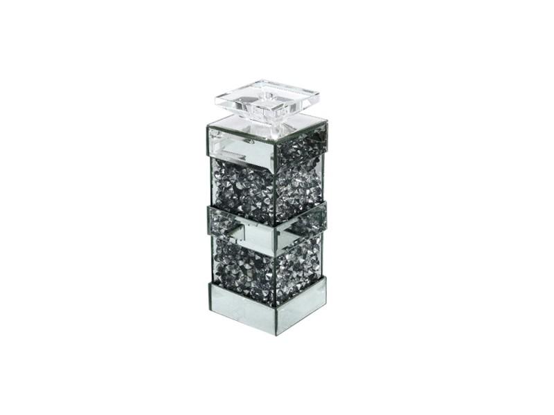 EUH - GD2017 kristályos gyertyatartó 30 cm