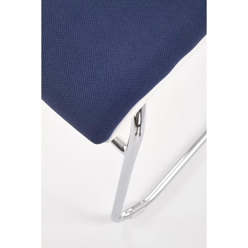 Halmar - Cali rakásolható tárgyalószék, irodaszék kék