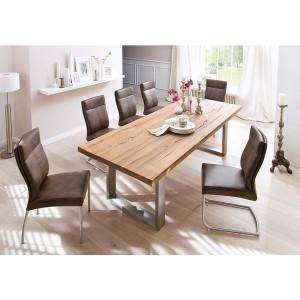Castello tömör tölgyfa étkezőasztal