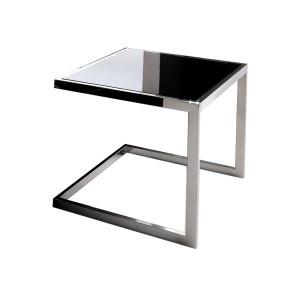 EUH - JJ-1008 lerakóasztal fekete üveggel