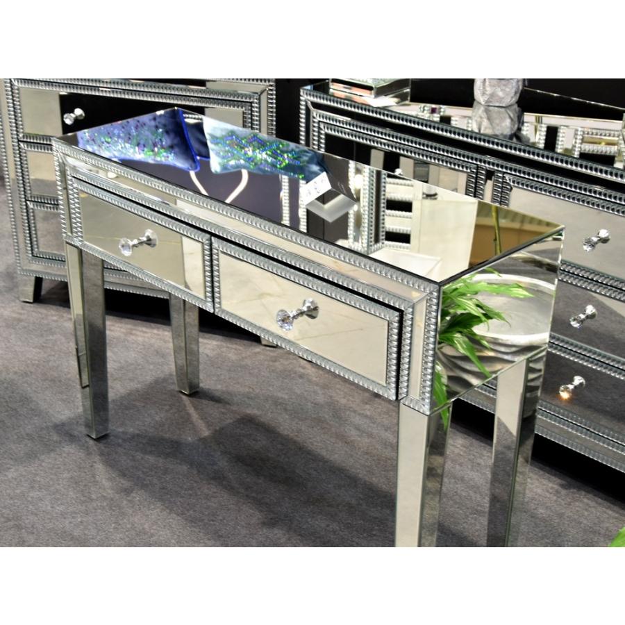 EUH - JS60 tükrös konzolasztal