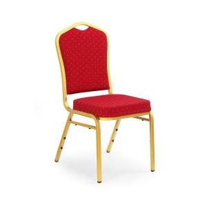 Halmar - K66 rakásolható konferenciaszék, bankett szék bordó