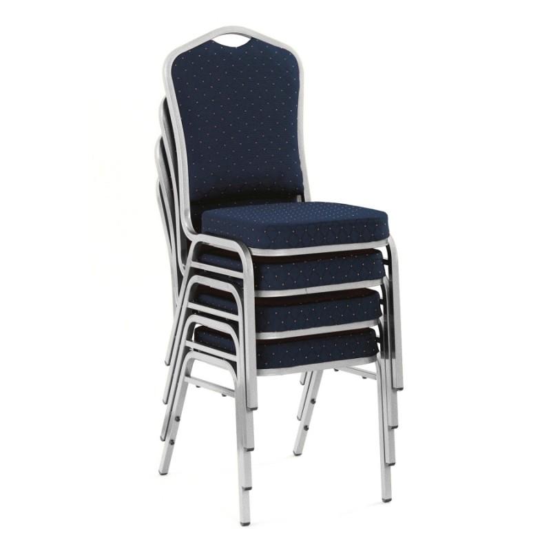 Halmar - K66 rakásolható konferenciaszék, bankett szék kék