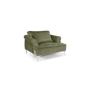 MOB - Manhattan fotel grey velvet