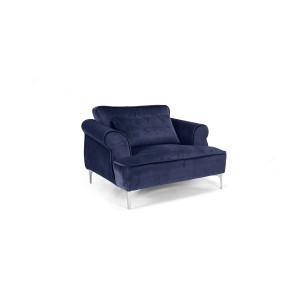 MOB - Manhattan fotel blue velvet