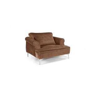 MOB - Manhattan fotel brown velvet