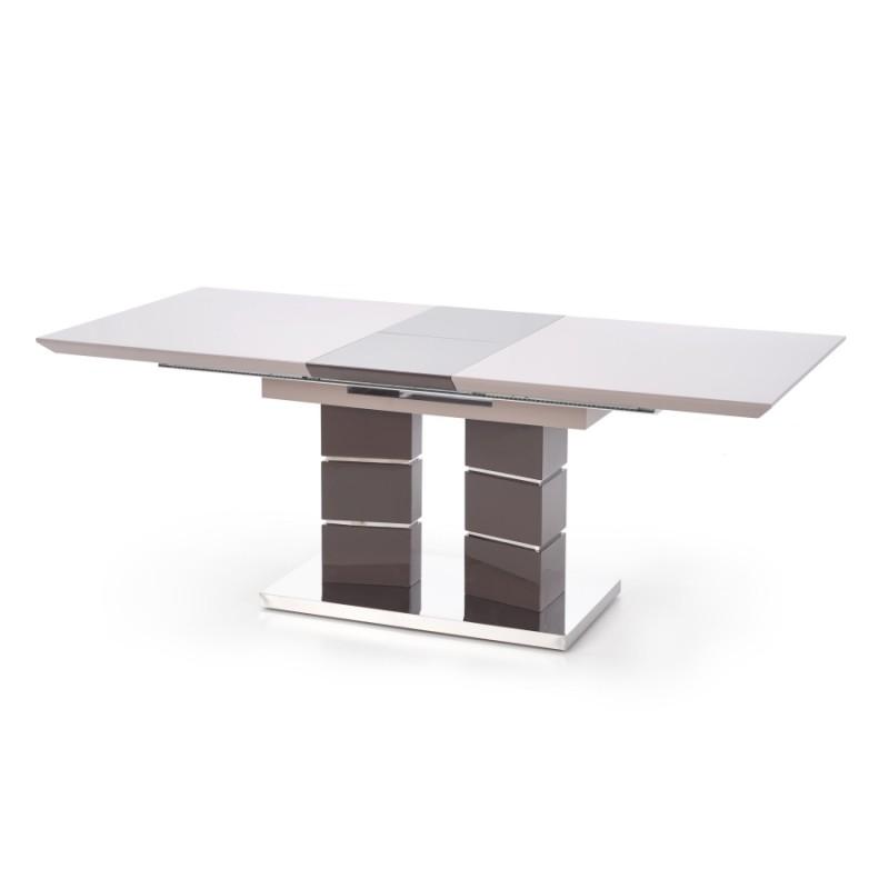 Halmar - Lord bővíthető étkezőasztal cappuccino