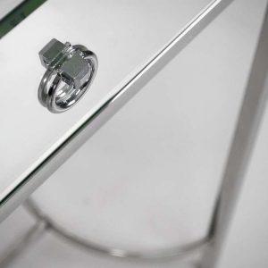 EUH - LW 6071 tükrös konzolasztal