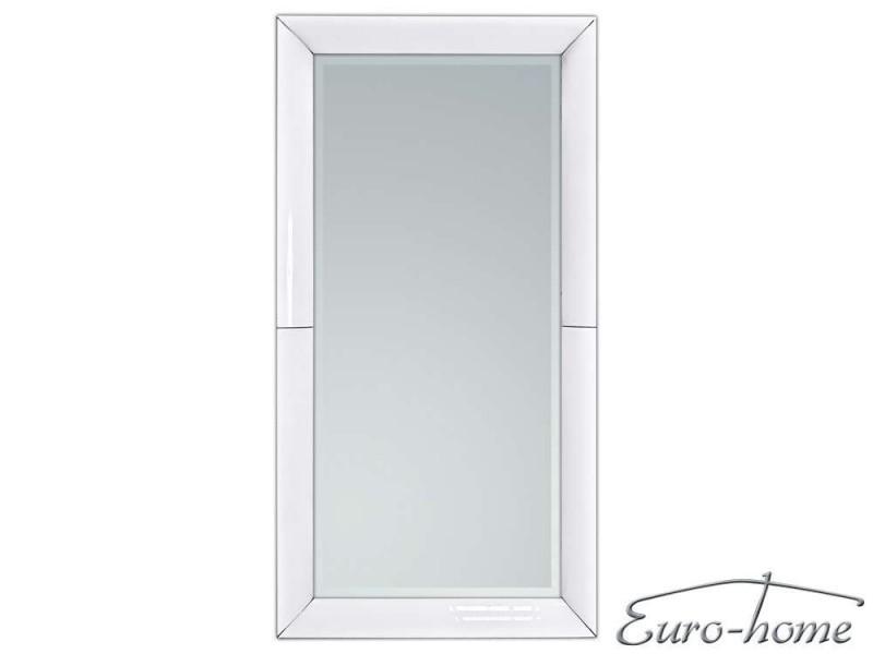 EUH - LW707 XXL fali tükör fehér színű kerettel 90x180 cm