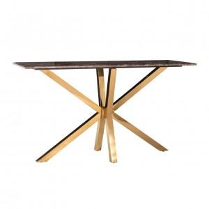 RI - 9450 Gold Spider konzolasztal