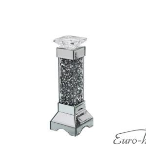 EUH - TMZ146 kristályos gyertyatartó 35,5 cm