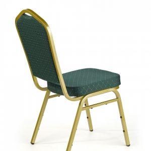 Halmar - K66 rakásolható konferenciaszék, bankett szék zöld